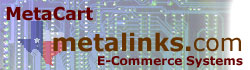 Software / MetaCart e-Commerce Applications - metalinks.com